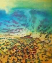 «Jazz» - toile réalisée en janvier 2012.