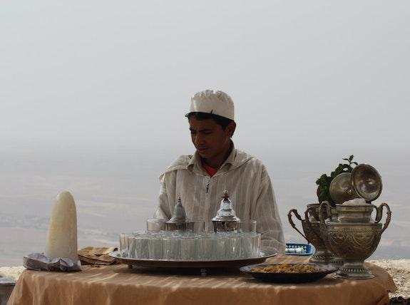 L'art du Thé à l'Heure du Thé.  Zouzouvie