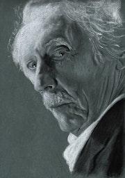 Jean Rochefort. Philippe Flohic