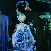 Sombre geisha.