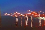 Girafes cosmiques camera toss.