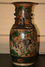 Vase chinois. Xavier Gonzalez