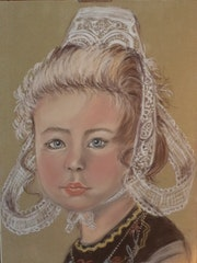Petite fille du Porzay,.
