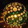 Verschlungen Kugellampe. Diana Rosa Scholl