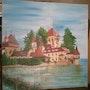Batyissze au bord de mer. Peintre Amateur