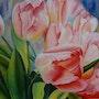 Les tulipes. Rachelle Bonnard
