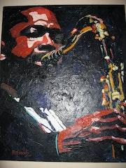 Coltrane plays the blues.