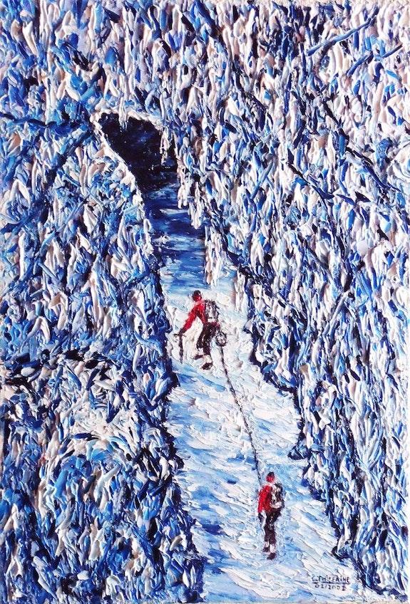 The glacier.  Christian Thiefaine
