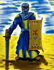 Blue Man.
