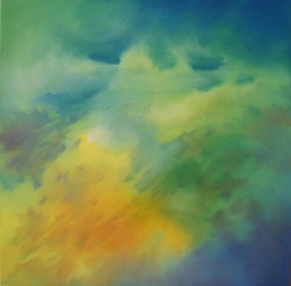 «Sio» - Malerei im Juli 2011 fertig. Caroline Morcillo Caroline Morcillo