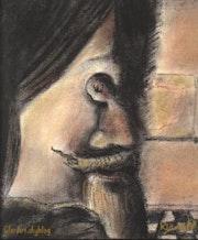 The image disparaît_d'après Dali. Clara Niniewski