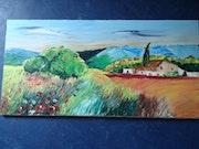 Quiet provencal landscape.