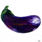 Une aubergine.
