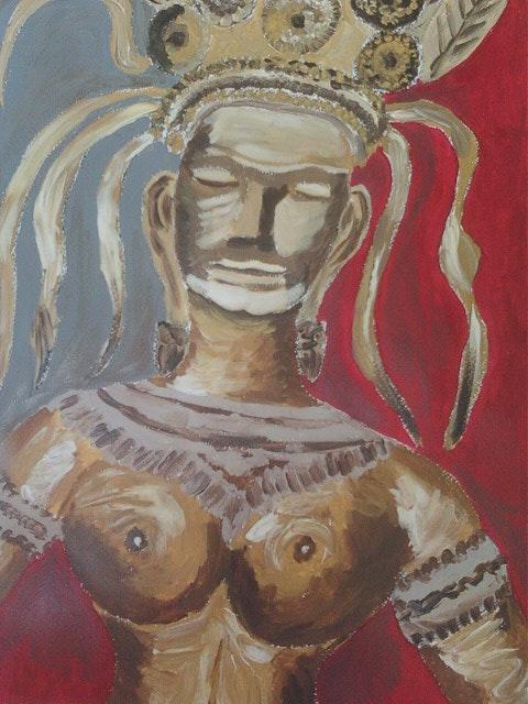 Indonesische Gottheit. Sandrine Parfaite Et Illustre Inconnue ! Bellelavie