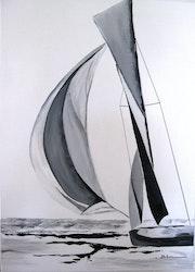 The yacht.