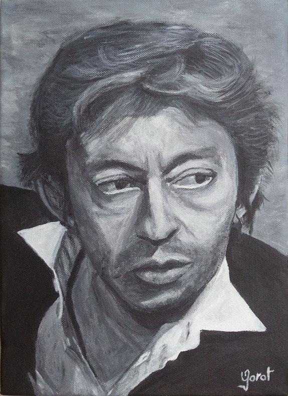 Serge Gainsbourg. Olivier Garat Olivier Garat