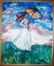 'Girl with Parasol ».