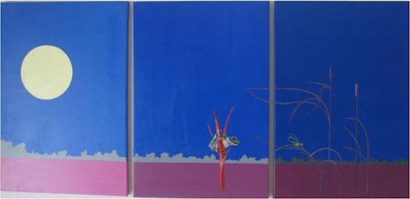 Triptyque à la grenouille. Eric Couthon Eric Couthon