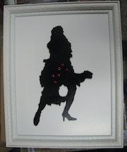 Danseuse de flamenco.