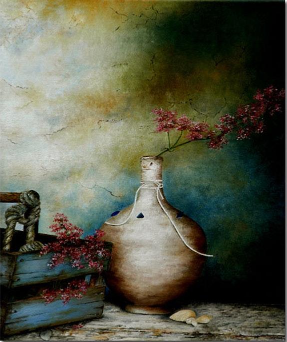 Vase and ¨ cart. Houmeau Houmeau