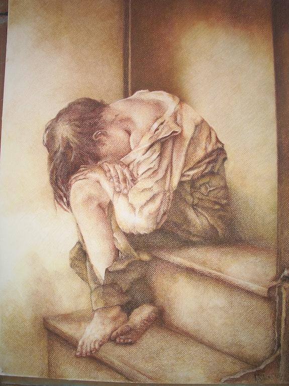 Child Bettler. Nieves Salas Nieves Salas Montero