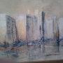 La soledad en la ciudad, ciudad a orillas del mar. Dan