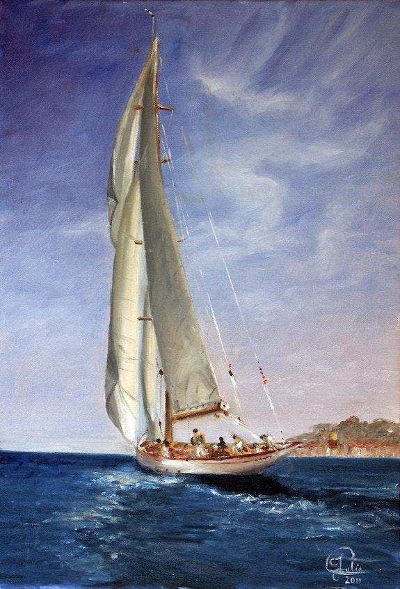 Sailboat 1.  Julia. Colletto