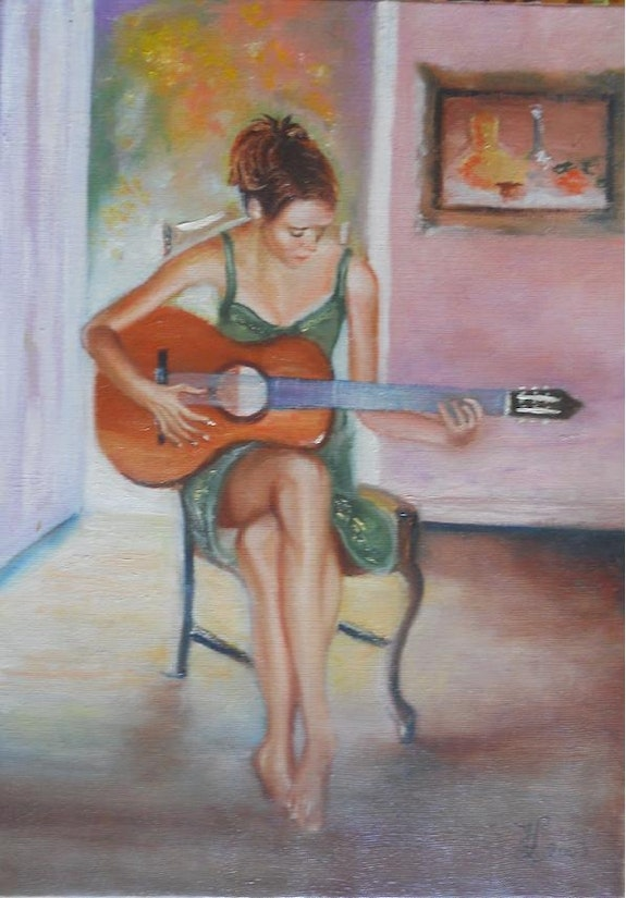 Some guitar chords. Marie-Claude Marie-Claude