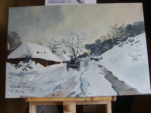 Die Charette Monet. Dumay Danièle Daniele Dumay