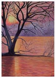 Sunset Magie Laggo Maggiore..