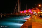 Extravaganza evening in St Tropez. Françoise Miray
