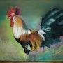 Un beau coq gaulois. Catherine Souet-Bottiau
