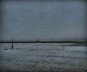 Niebla en una playa en Bretaña # 4. Philippe Gillard