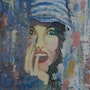 Woman in the blue cap. Myp
