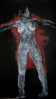 Dibujos a partir del modelo de desnudos..