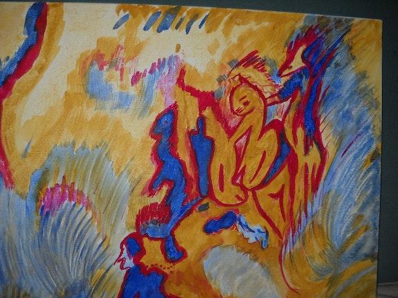 Las criaturas pequeñas. Ydil Claire Artiste Peintre, Psychanalyste Jungienne Ydil-Claire