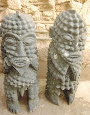 Statut mambila. Collectionneur - Marchand
