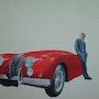 El Jaguar y el propietario. J. N. C