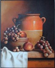 Pottery Trauben.