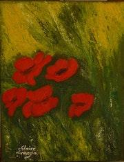 Poppies acrylic.