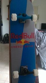Red Bull Skateboard.