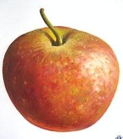 Une pomme à croquer.