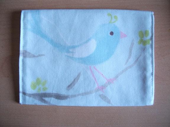 Pochette «l'oiseau bleu». Universophie Universophie
