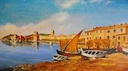 Sanary sur mer en 1865.