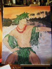 Tahitian Dancer. Criquet