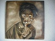 The child of tibet. Michele Liard