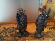 Statuettes. Bruno Casanova