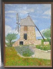 Le moulin de fontvieille.