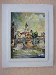 Praga, en las tormentas de verano.
