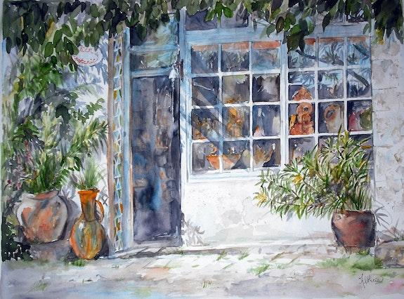 L'atelier de poterie. Altheia Althéia - Martine Vinsot